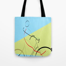free wheeling Tote Bag