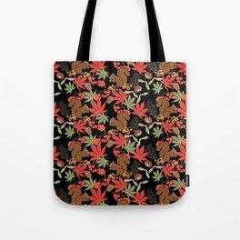 Autumn squirrel Tote Bag