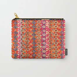 N120 - Fresh Bohemian Traditional Moroccan Style Artwork. Carry-All Pouch