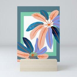 tropical plants Mini Art Print