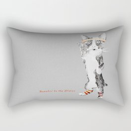Sweatin' to the Oldies Rectangular Pillow