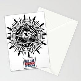 Deus ta vendo essa zoeira - PIGN Stationery Cards