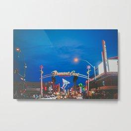 Las Vegas Fremont Street Downtown Metal Print