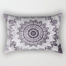 BOHOCHIC MANDALA IN PURPLE Rectangular Pillow