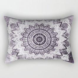 BOHOCHIC MANDALA IN PURPLE Rectangular Pillow