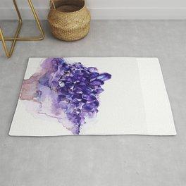 Amethyst Watercolor Rug