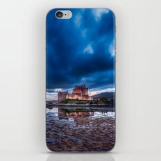 Dark Skies at Eilean Donan Castle iPhone & iPod Skin