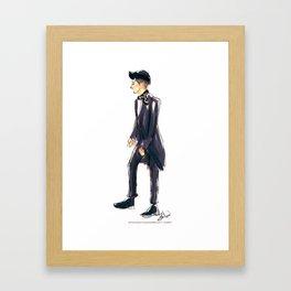 Zayn at the Brits Framed Art Print