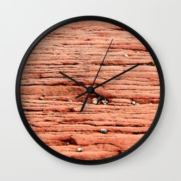 Life in the Cracks Wall Clock