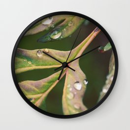 Down Below Wall Clock