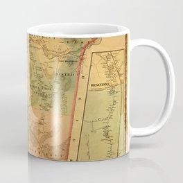Map Of Braintree 1856 Coffee Mug