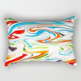 Marbled III Rectangular Pillow