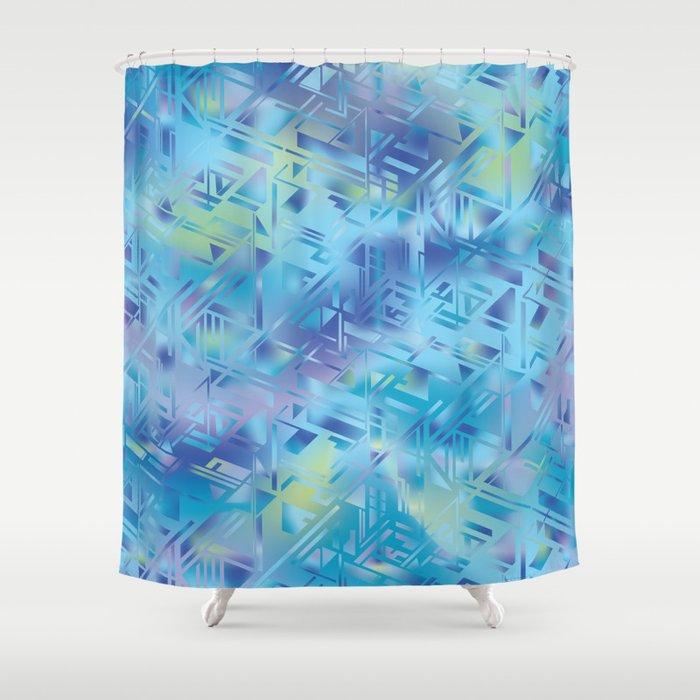 Hologram Shower Curtain By Martaolgaklara