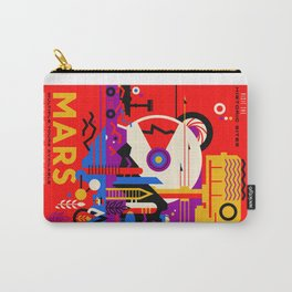 Tour Mars Poster, the NASA Autorized Version Carry-All Pouch
