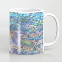 Psychedelic Ocean Water 2 -  Rainbow Coffee Mug