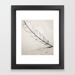 Feather Quill Framed Art Print