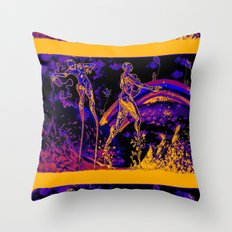 A Walk in The Park* Throw Pillow