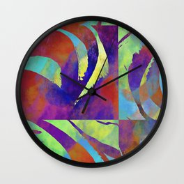 Color move III Wall Clock