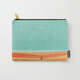 Where the sea meets the sky Carry-All Pouch