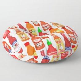 Hot Sauces Floor Pillow