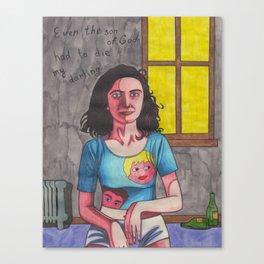 Man-Size Canvas Print