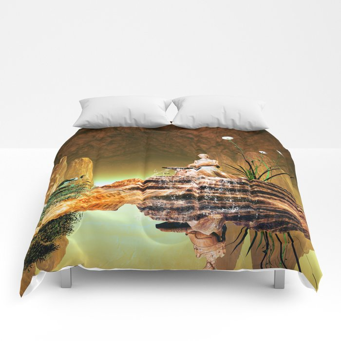 The mysterious underwater cave Comforters