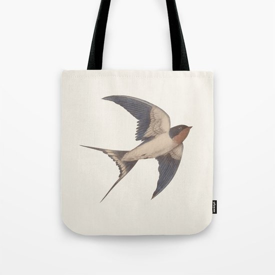Barn Swallow Tote Bag