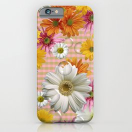 Retro Country Flowers iPhone Case