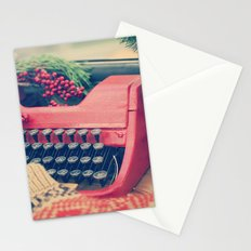 December moments Stationery Cards