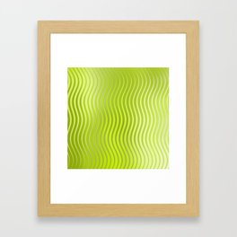 Spring lights Framed Art Print