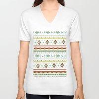 southwest V-neck T-shirts featuring southwest by studiomarshallarts