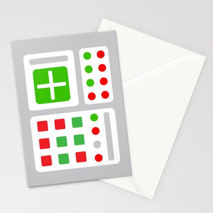 Alpha One Rocket Base Stationery Cards