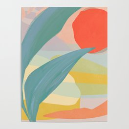 Shapes and Layers no.33 Poster