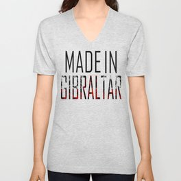 Made In Gibraltar Unisex V-Neck