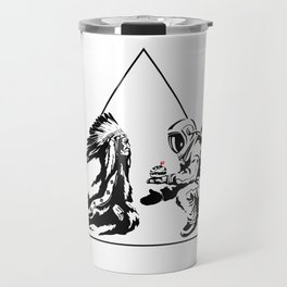 Columbus Day Travel Mug