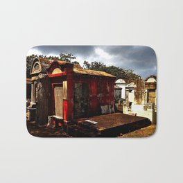 Lafayette Cemetery - Red Tomb Bath Mat
