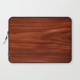Beautiful red wood design Laptop Sleeve