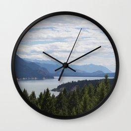 Rocky Mountain lake Wall Clock