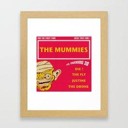 The Mummies Framed Art Print