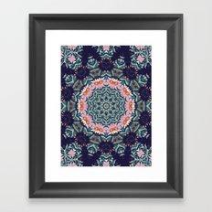 Shaping Realities (Mandala) Framed Art Print
