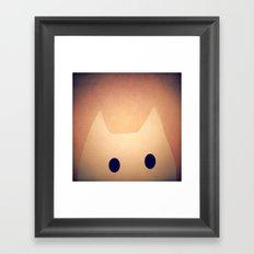 cat-208 Framed Art Print