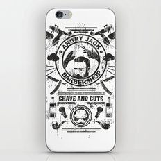 Barbershop iPhone & iPod Skin