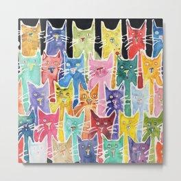 Cats. Cats. Cats. Cats. Cats Metal Print