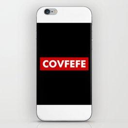 covfefe iPhone Skin