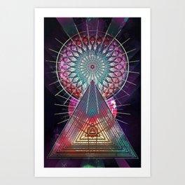 trww cythydryl Art Print