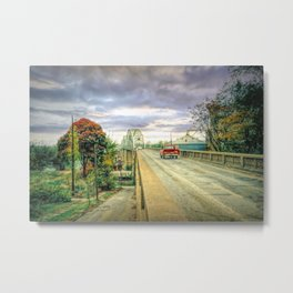 The Forgotten Bridge of a Lost Childhood Metal Print