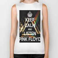 floyd Biker Tanks featuring Pink Floyd by Iotara