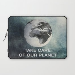 Take care of our planet #2 Laptop Sleeve