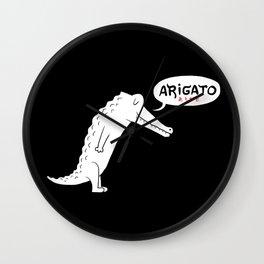 Domo Alligator Wall Clock