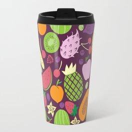 Juicy fruits dark Travel Mug